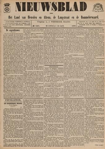 Nieuwsblad het land van Heusden en Altena de Langstraat en de Bommelerwaard 1900-01-10