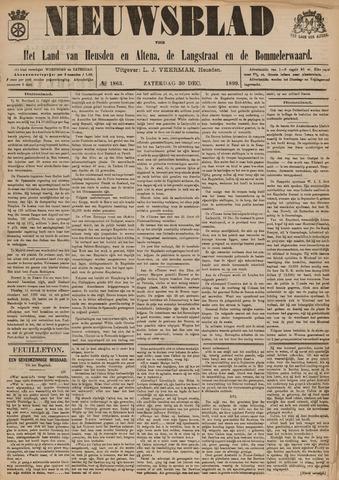 Nieuwsblad het land van Heusden en Altena de Langstraat en de Bommelerwaard 1899-12-30