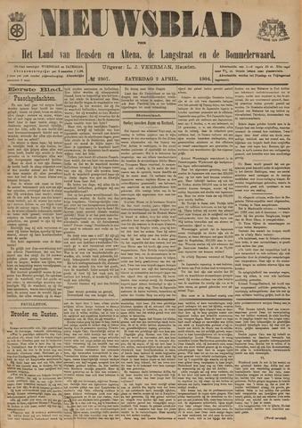 Nieuwsblad het land van Heusden en Altena de Langstraat en de Bommelerwaard 1904-04-02