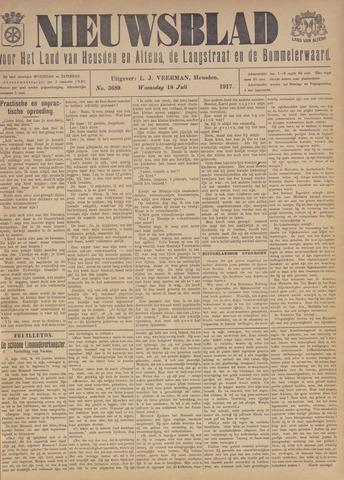 Nieuwsblad het land van Heusden en Altena de Langstraat en de Bommelerwaard 1917-07-18