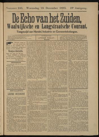 Echo van het Zuiden 1895-12-25