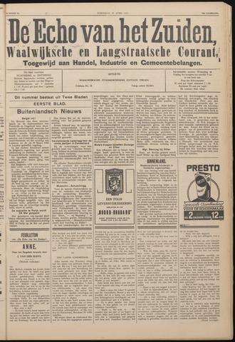 Echo van het Zuiden 1937-04-28