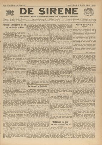 De Sirene 1945-10-08