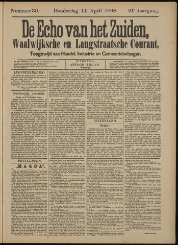 Echo van het Zuiden 1898-04-14