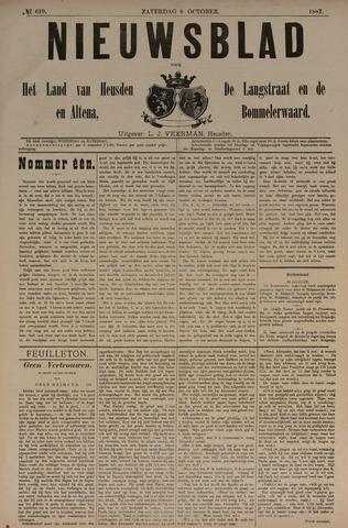 Nieuwsblad het land van Heusden en Altena de Langstraat en de Bommelerwaard 1887-10-08