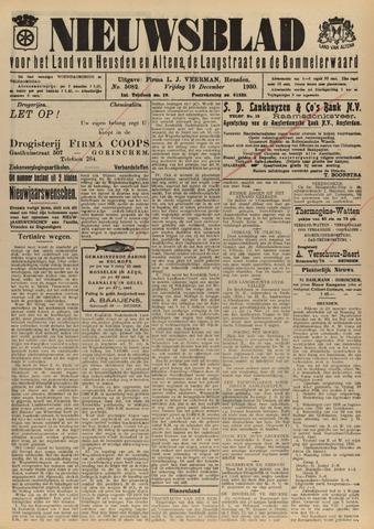 Nieuwsblad het land van Heusden en Altena de Langstraat en de Bommelerwaard 1930-12-19