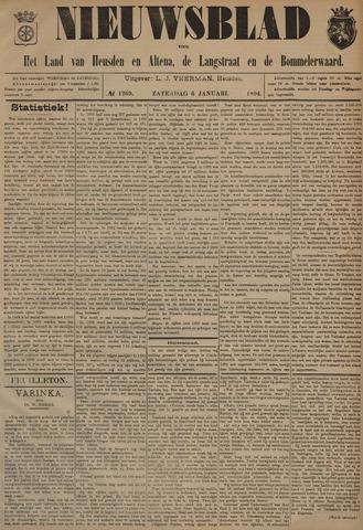 Nieuwsblad het land van Heusden en Altena de Langstraat en de Bommelerwaard 1894-01-06