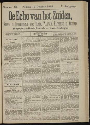 Echo van het Zuiden 1884-10-12
