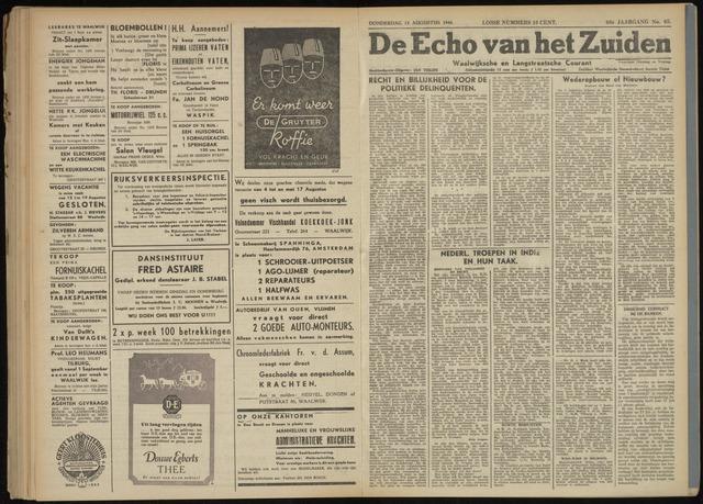 Echo van het Zuiden 1946-08-15
