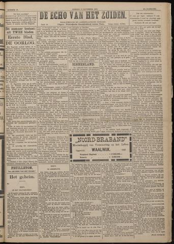 Echo van het Zuiden 1917-11-11