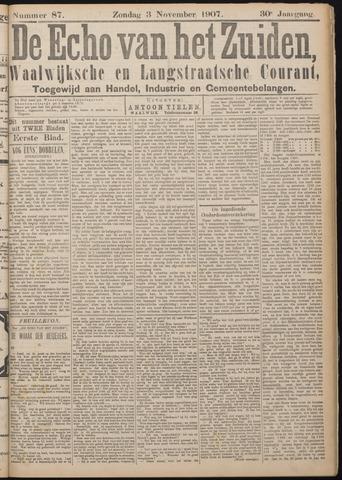 Echo van het Zuiden 1907-11-03