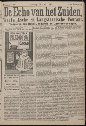 Echo van het Zuiden 1912-07-21