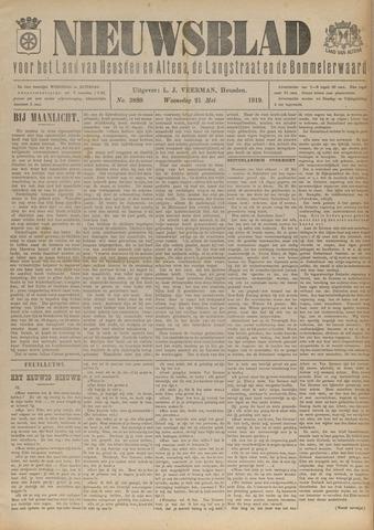 Nieuwsblad het land van Heusden en Altena de Langstraat en de Bommelerwaard 1919-05-21