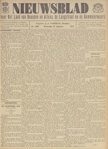 Nieuwsblad het land van Heusden en Altena de Langstraat en de Bommelerwaard 1917-08-15