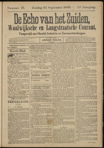 Echo van het Zuiden 1899-09-24
