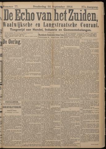 Echo van het Zuiden 1914-09-24