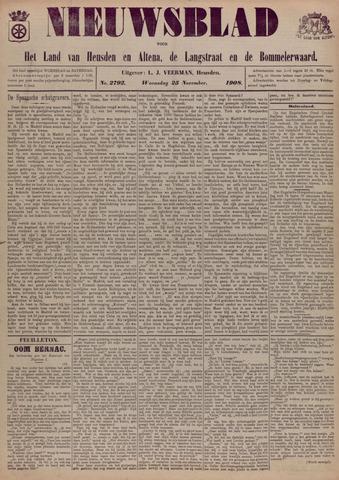 Nieuwsblad het land van Heusden en Altena de Langstraat en de Bommelerwaard 1908-11-25