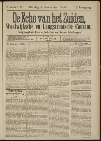 Echo van het Zuiden 1888-11-04