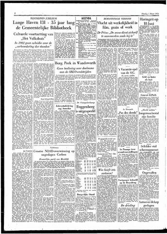 Rotterdamsch Parool / De Schiedammer 1955-03-01