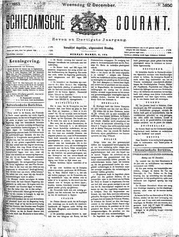 Schiedamsche Courant 1883-12-12