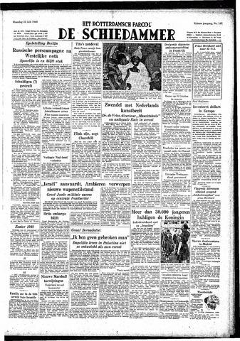 Rotterdamsch Parool / De Schiedammer 1948-07-12