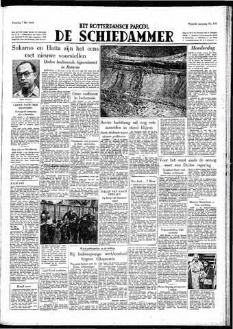 Rotterdamsch Parool / De Schiedammer 1949-05-07