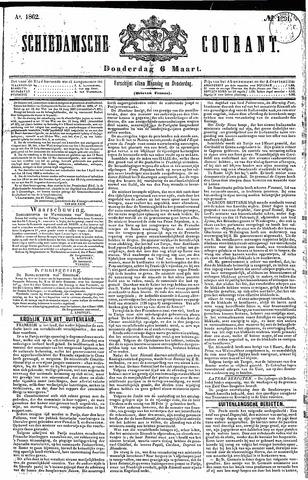 Schiedamsche Courant 1862-03-06