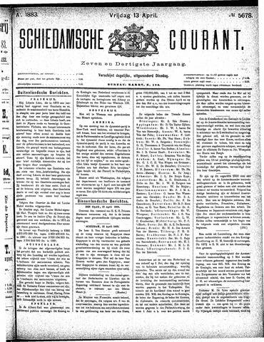 Schiedamsche Courant 1883-04-13