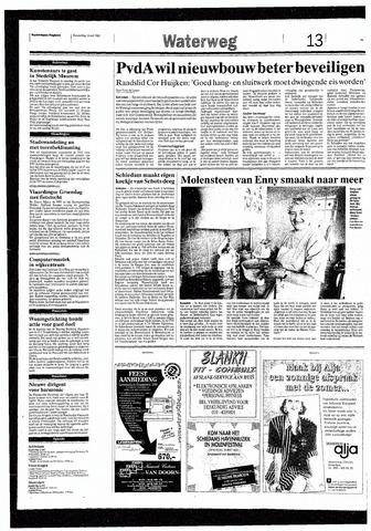 Rotterdamsch Nieuwsblad / Schiedamsche Courant / Rotterdams Dagblad / Waterweg / Algemeen Dagblad 1993-05-13