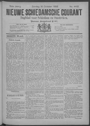 Nieuwe Schiedamsche Courant 1892-10-16