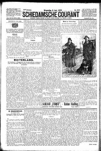 Schiedamsche Courant 1929-06-05
