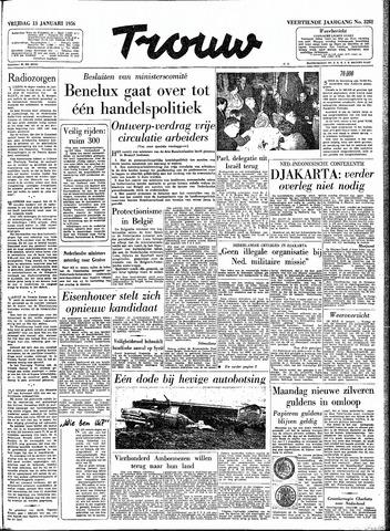 Trouw / De Rotterdammer 1956-01-13