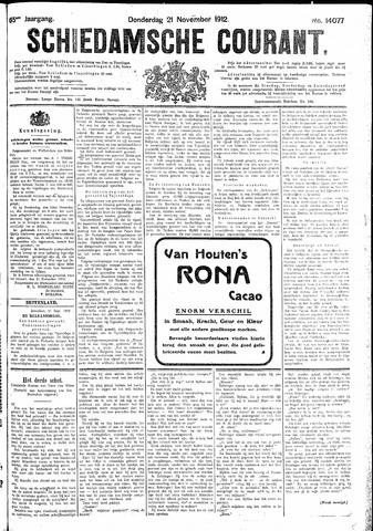 Schiedamsche Courant 1912-11-21