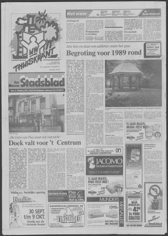 Het Nieuwe Stadsblad 1988-09-28
