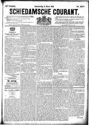 Schiedamsche Courant 1916-03-02