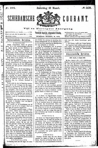 Schiedamsche Courant 1881-03-12