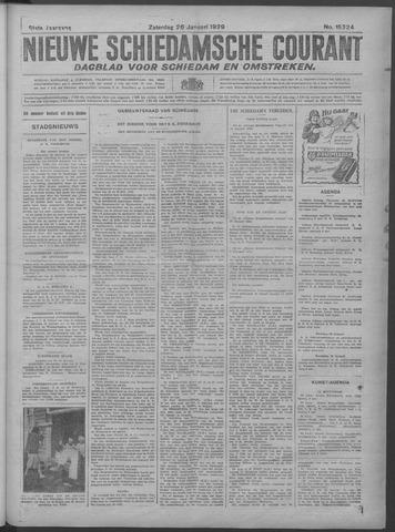 Nieuwe Schiedamsche Courant 1929-01-26