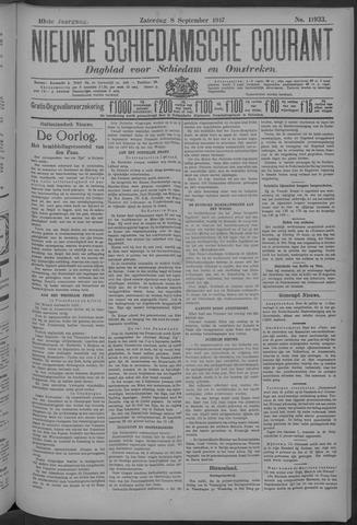 Nieuwe Schiedamsche Courant 1917-09-08