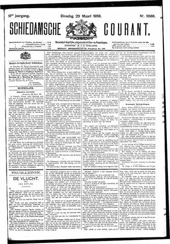 Schiedamsche Courant 1898-03-29