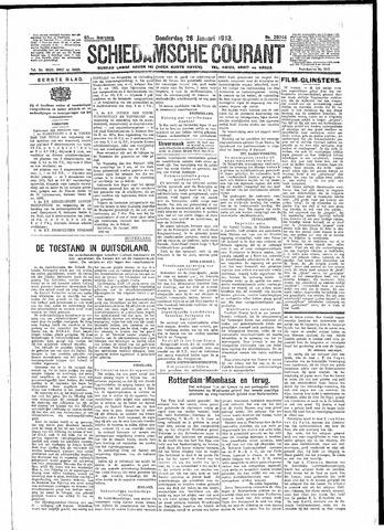 Schiedamsche Courant 1933-01-26
