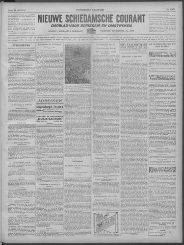 Nieuwe Schiedamsche Courant 1933-03-09
