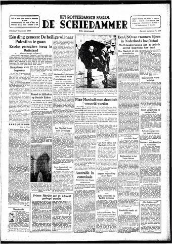 Rotterdamsch Parool / De Schiedammer 1947-09-09