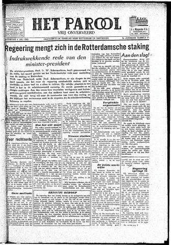 Rotterdamsch Parool / De Schiedammer 1945-07-04