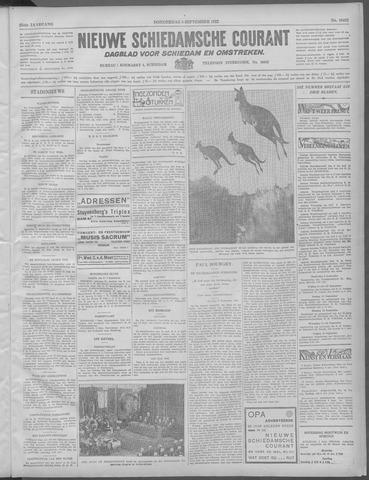 Nieuwe Schiedamsche Courant 1932-09-08