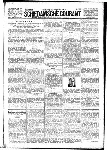 Schiedamsche Courant 1929-08-22