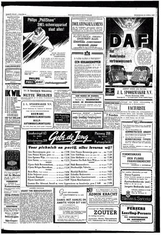 Rotterdamsch Nieuwsblad / Schiedamsche Courant / Rotterdams Dagblad / Waterweg / Algemeen Dagblad 1953-04-22