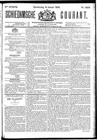 Schiedamsche Courant 1898-01-13