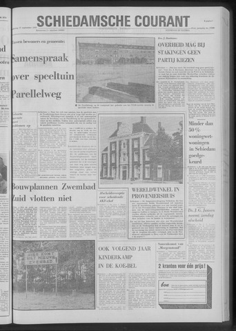 Rotterdamsch Nieuwsblad / Schiedamsche Courant / Rotterdams Dagblad / Waterweg / Algemeen Dagblad 1970-09-17