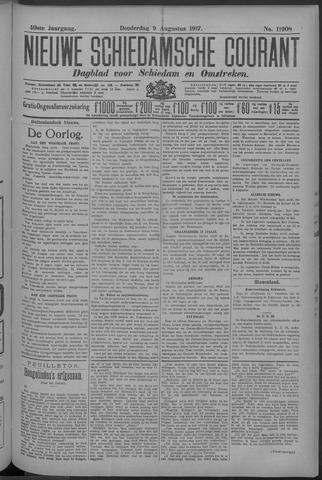 Nieuwe Schiedamsche Courant 1917-08-09