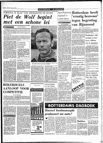 Rotterdamsch Parool / De Schiedammer 1970-08-14